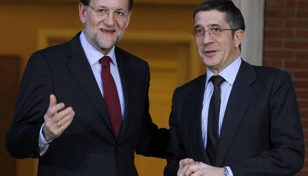Rajoy y López