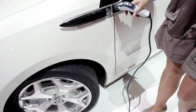 Un coche eléctrico
