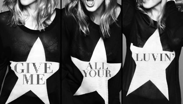 Carátula del nuevo single de Madonna,