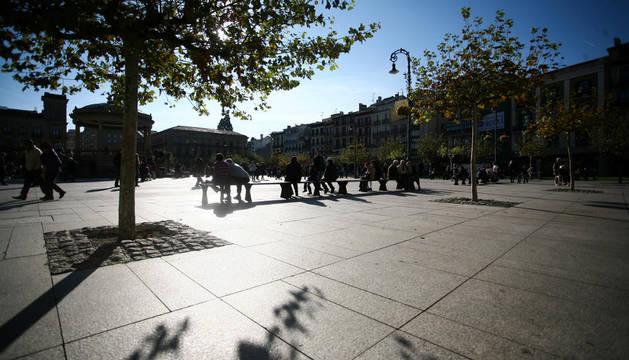 La plaza del Castillo
