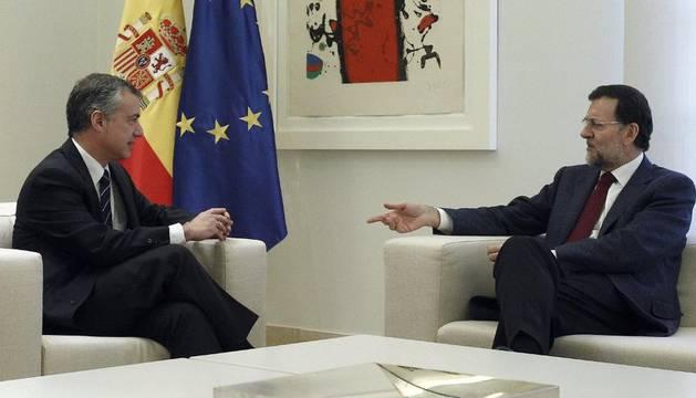 Urkullu y Rajoy, en La Moncloa