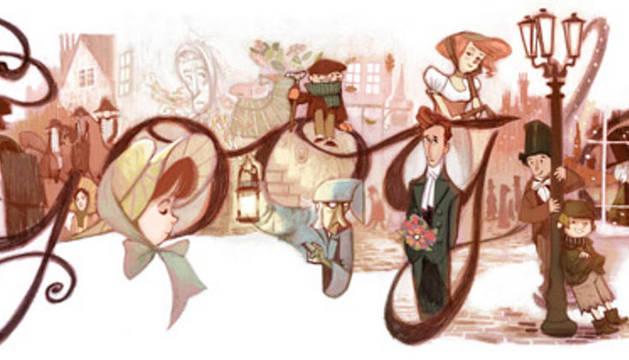 El doodle de Dickens