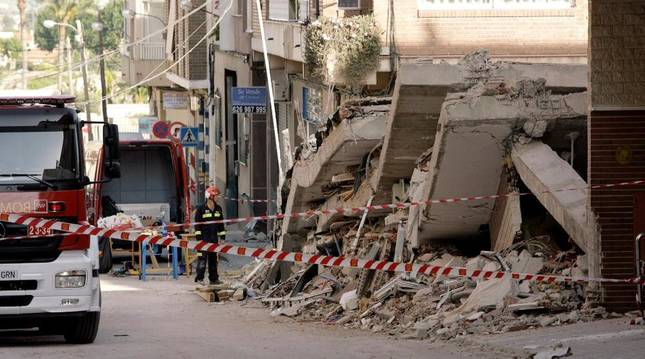 Tras el terremoto de Lorca