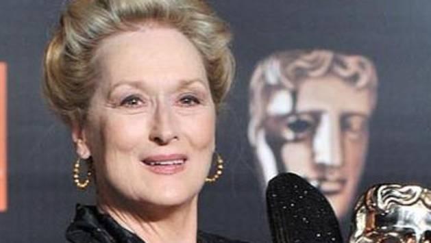 La actriz estadounidense Meryl Streep asiste a la fiesta oficial de los premios de la Academia Británica para las Artes del Cine y la Televisión (Bafta)