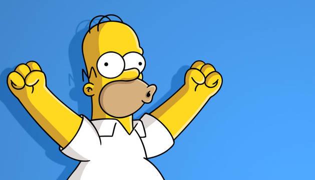 Homer Simpson, el rey de la familia estrella