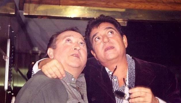 Andrés Pajares y Fernando Esteso