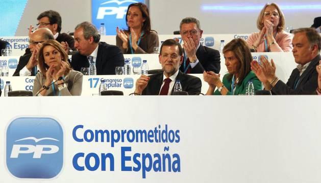 En el Congreso del PP en Sevilla
