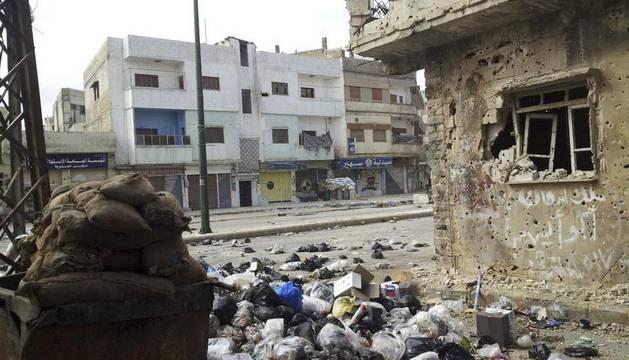 Imagen de Homs de este jueves 23 de febrero