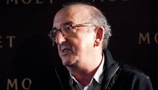 El productor español Jaume Roures durante una rueda de prensa ofrecida en Los Ángeles (EEUU)