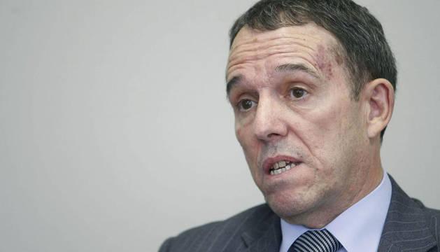 El rector de la Universidad Pública de Navarra, Julio Lafuente