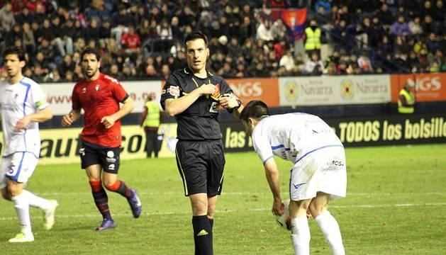 Imágenes del partido entre Osasuna y Granada en el Reyno