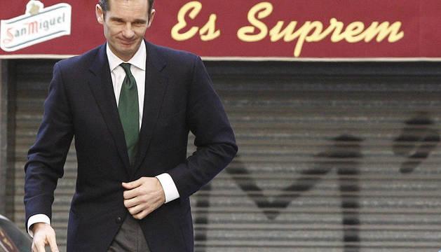 Urdangarín llega a los juzgados para continuar con su declaración