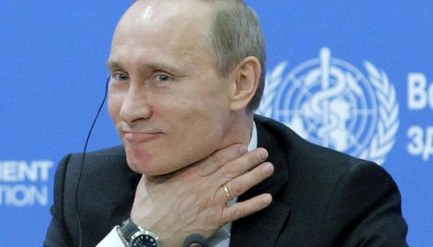 Imagen de Vladimir Putin el pasado abril