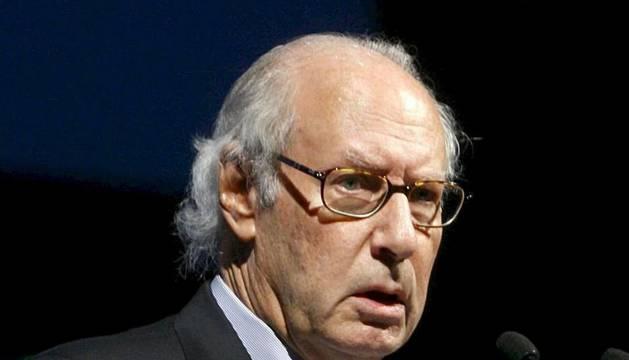 El exministro de Economía, Miguel Boyer