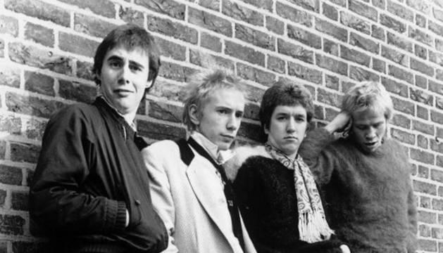 El grupo The Sex Pistols