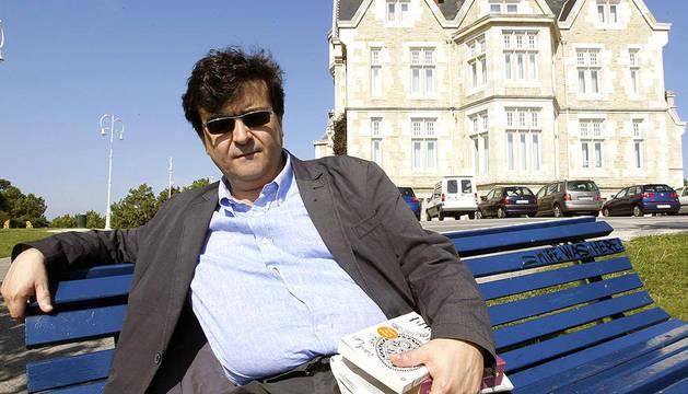 Javier Cercas, en Santander