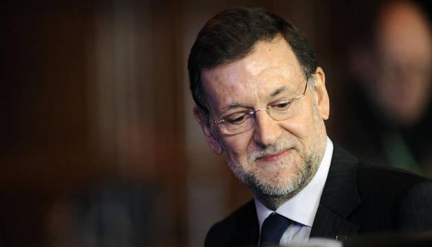 Rajoy deja la cumbre europea tras la primera jornada