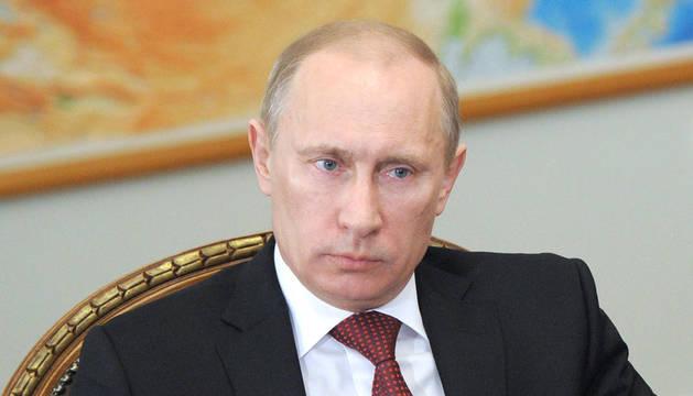 El primer ministro, Vladímir Putin