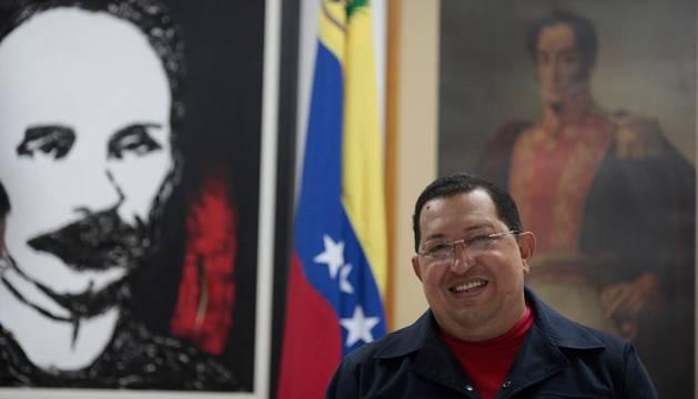 Hugo Chávez, en Cuba