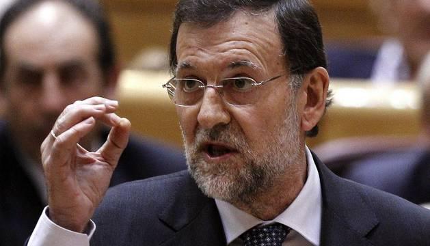 Rajoy, en su estreno en el Senado