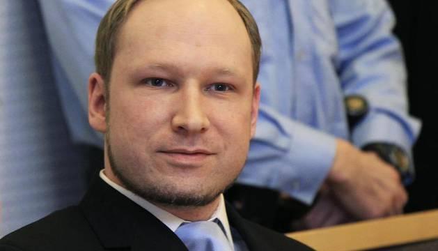 Breivik, en una imagen del pasado 6 de febrero