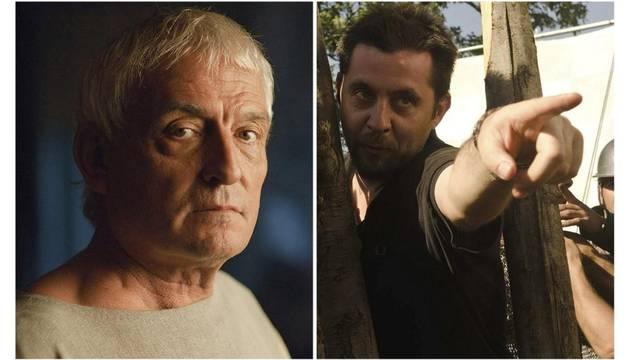 El director de 'Imperium' Carlos Sedes (d) y el actor Pepe Sancho (i)