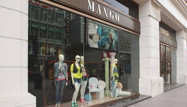 Una tienda de Mango en China