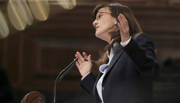 La portavoz socialista en el Congreso de los Diputados, Soraya Rodríguez