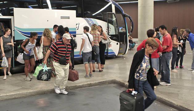 Estación de autobuses de Pamplona