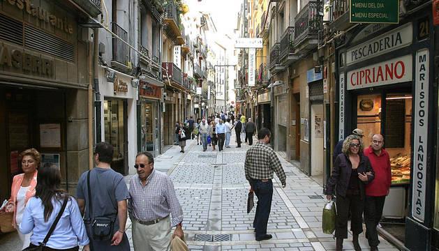 Calle San Nicolás, donde sucedieron los hechos