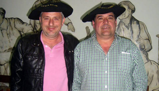 De izda. a dcha., José Antonio Marín 'File' y Miguelo Álava.