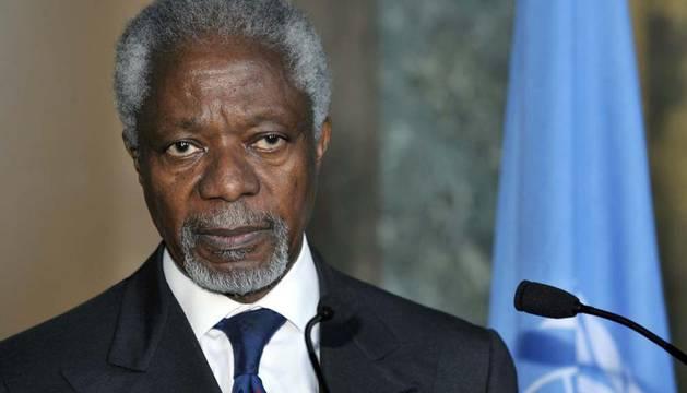 Imagen de archivo de Koffi Annan