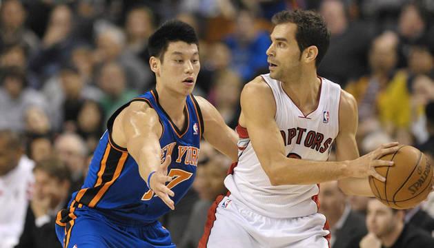 Calderón, defendido por Lin