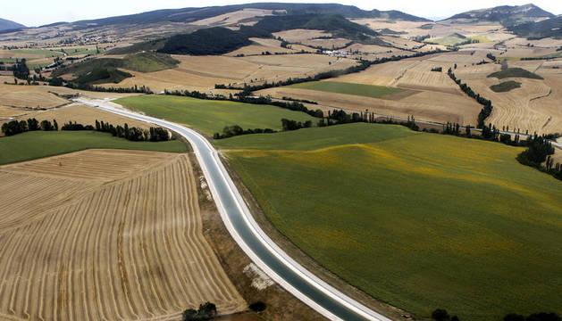 Imagen del Canal de Navarra