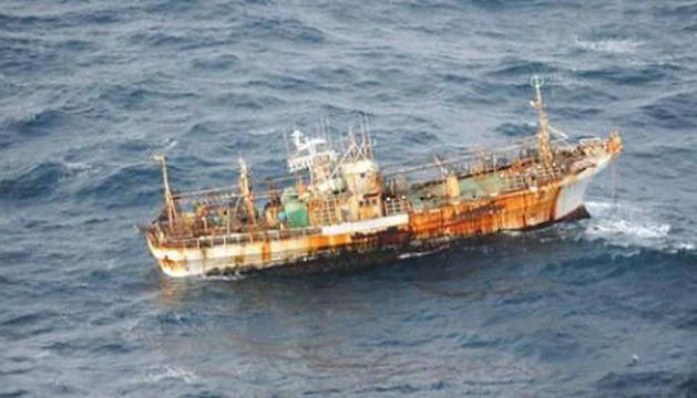 El barco ha sido avistado a 275 km de la costa canadiense