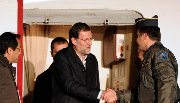 Rajoy, en Seúl