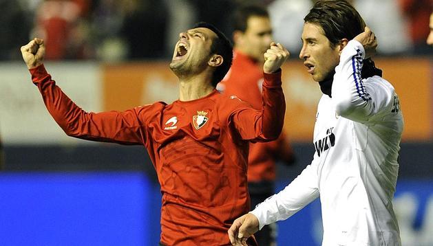 Rememora la victoria de Osasuna ante el Real Madrid de la temporada pasada en el Reyno de Navarra. El exrojillo Camuñas logró el gol del triunfo para Osasuna, conjunto dirigido en aquel entonces por José Antonio Camacho.