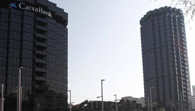 Sede de Caixabank, en la avenida Diagonal de Barcelona.