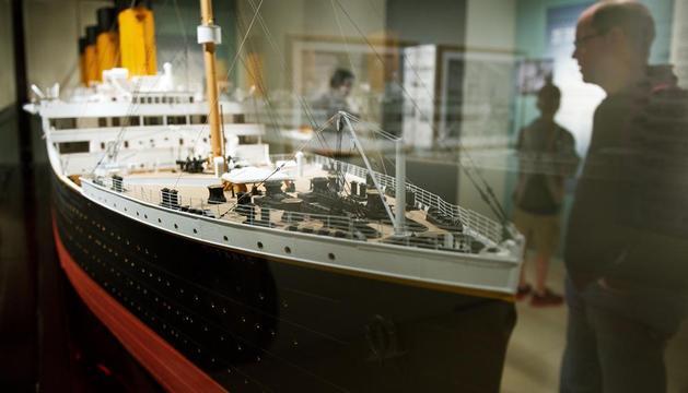 Imagen del mítico del Belfast Titanic
