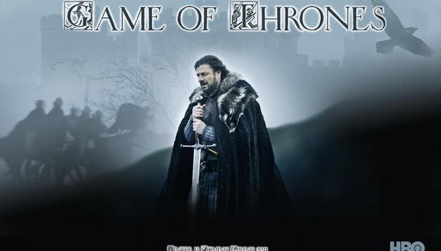 Fondo de escritorio que la cadena HBO ha diseñado con la temática de su serie, 'Juego de Tronos'