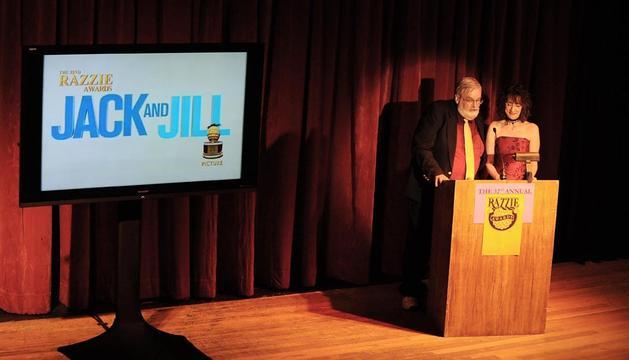 Imagen de la gala de entrega de los premios Razzie