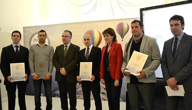 Este martes se entregaron los premios al joven empresario navarro organizados por la AJE para impulsar el emprendimiento