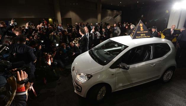 El Volkswagen Up, tras recibir el premio
