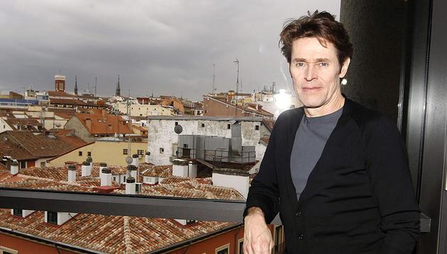 El actor Willen Dafoe en Madrid