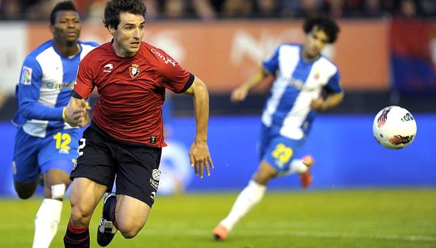 Imágenes del partido en el que el equipo rojillo anotó dos goles frente al Espanyol, gracias al centrocampista Raúl García.