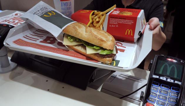 Hamburguesa de  McDonald's