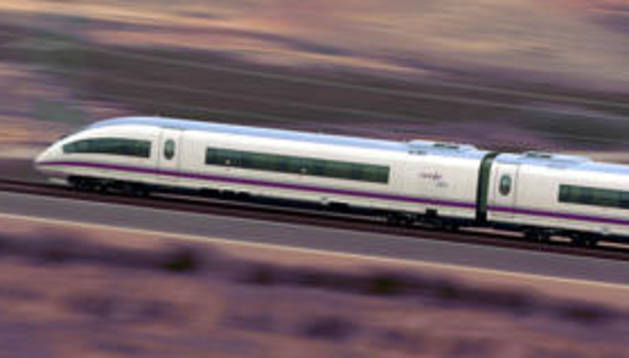El Gobierno espera que la plataforma del Tren de Alta Velocidad entre Castejón y Villafranca esté terminada en 2014