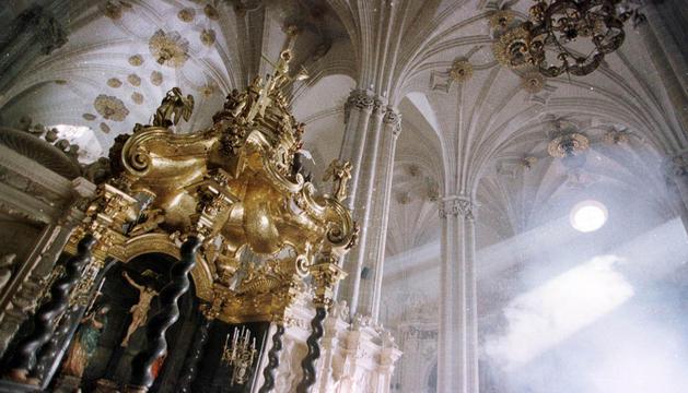 Imagen del interior de la Catedral de Zaragoza