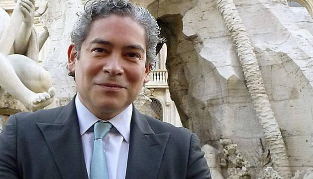 El escritor español de origen venezolano, Boris Izaguirre, en Roma
