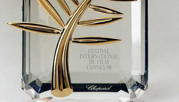 Palma de Oro que se entrega en el Festival de Cannes y diseñada por un joyero suizo